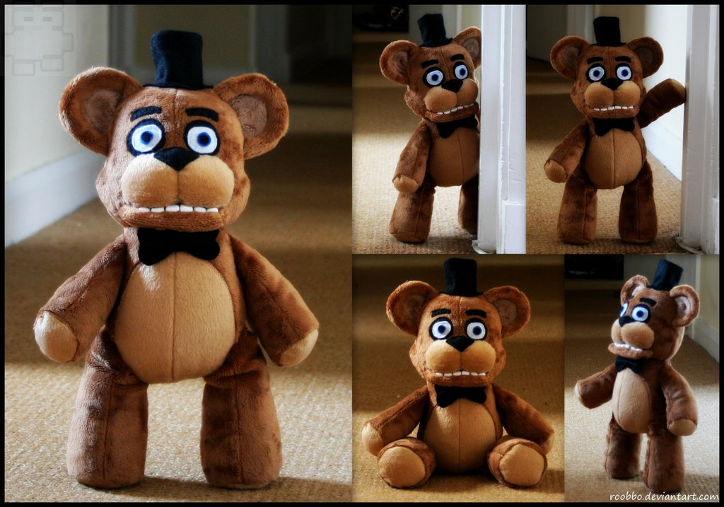 five_nights_at_freddy_s___freddy_fazbear___plush_by_roobbo-d8fs4kc