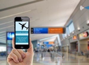 iBeacon and mobile wallet integration into airport