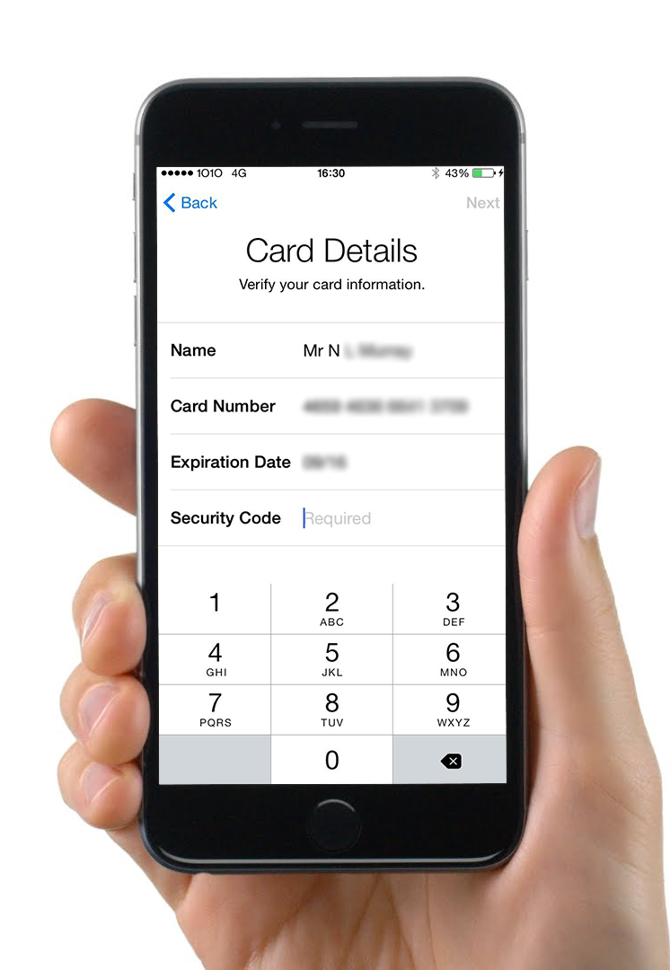 The HSBC Apple Pay Issue No One Is Talking About - Adding Card