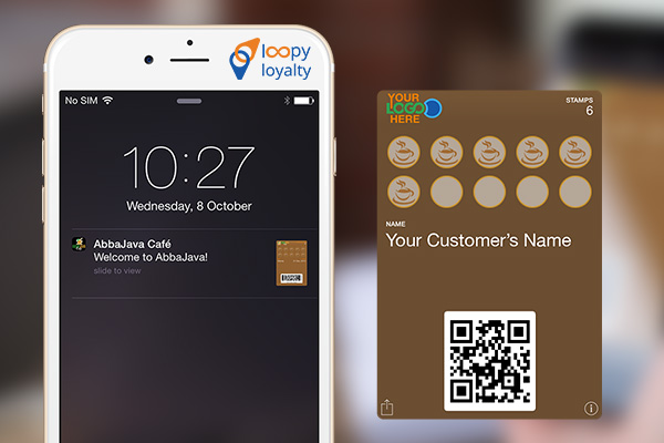 With the help of the GemTot Beacon, the loyalty card that your customer received online will automatically arrive on the lock screen when they go to checkout.
