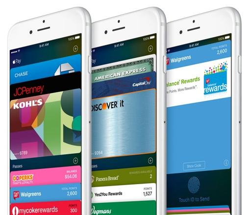 Exemples de cartes de fidélité intégrée à Apple Wallet