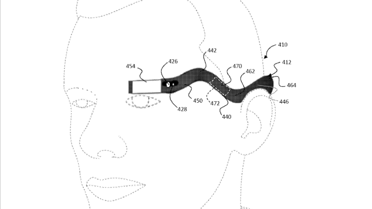 Tech Trends- This is the design patent for the new Google Glass