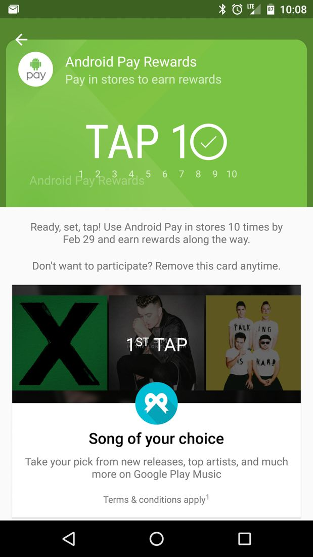 Tech Trends- Ten purchases using Android Pay can earn you a free Chromecast