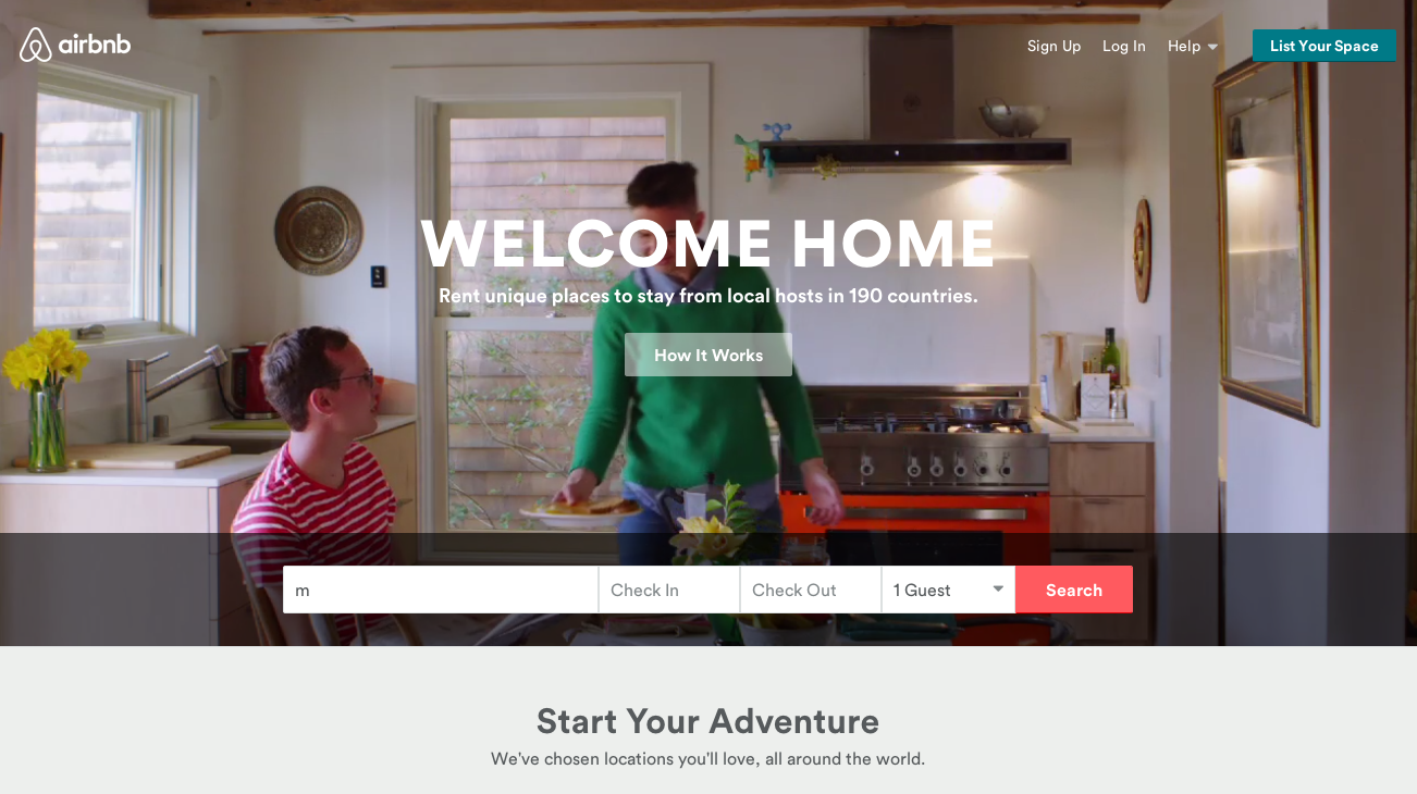 Airbnb has disrupted the entire travel industry.