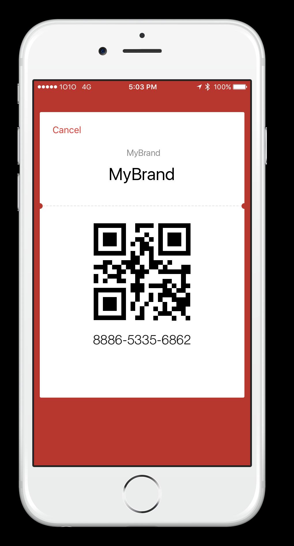 WeChat Wallet MyBrandQR