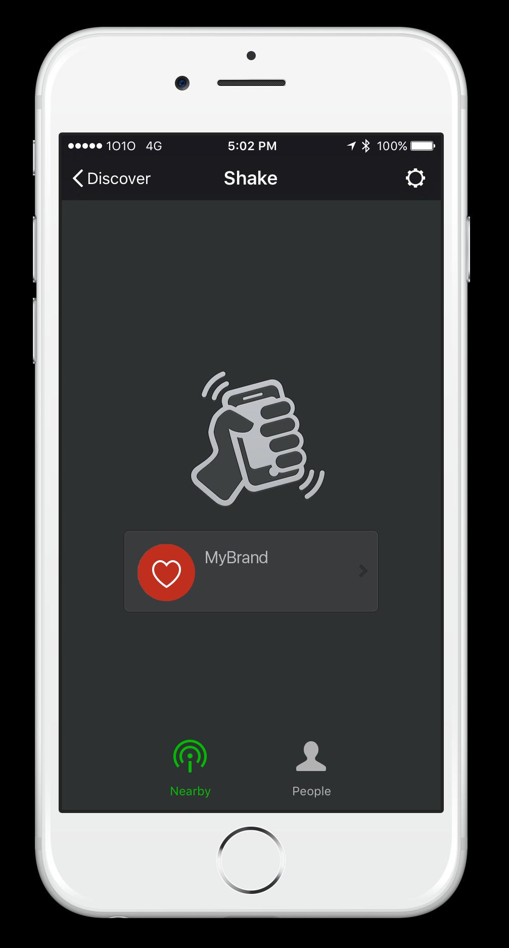 WeChat Wallet ShakeMyBrand