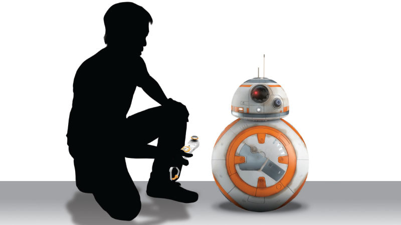 Tech Trends- The new BB-8 stands 16 inches tall and 19 inches if you're counting the antennas. This is the closest you're going to get to having the real thing.