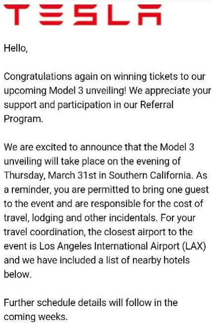 This is the invitation that was posted on the Tesla Motors Club forum by the person who received it.