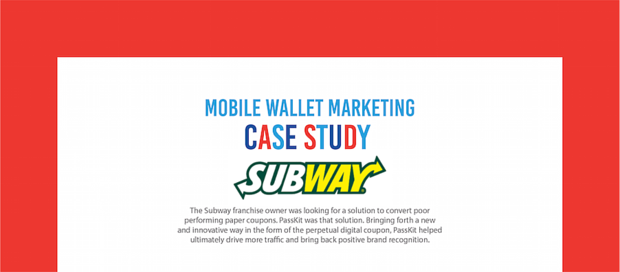 Coupon Subway Case study