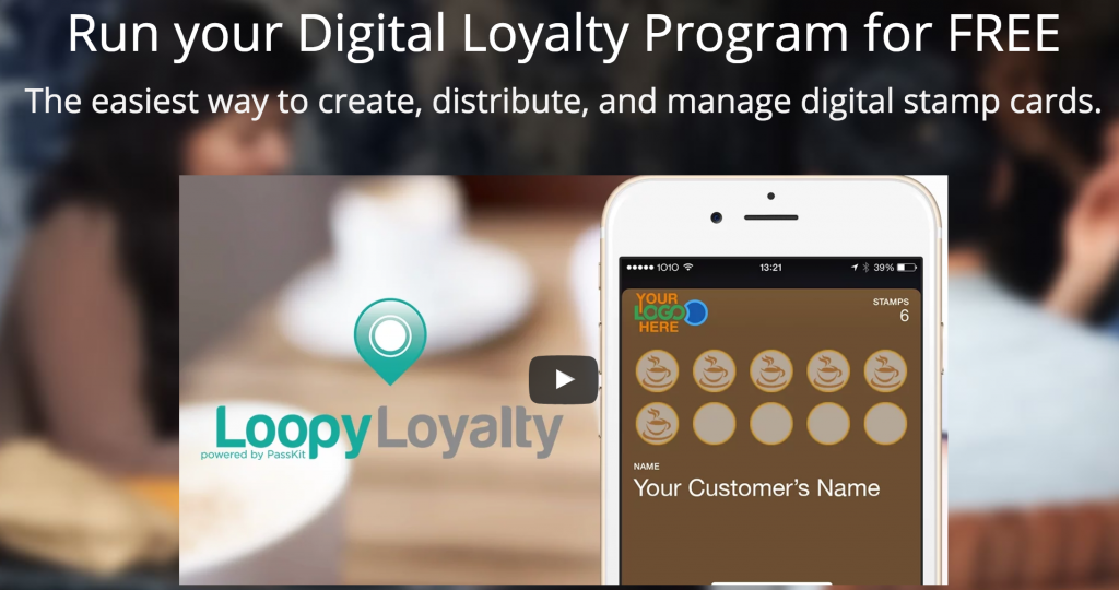 Loopy Loyalty Passkit Loyalty Programs