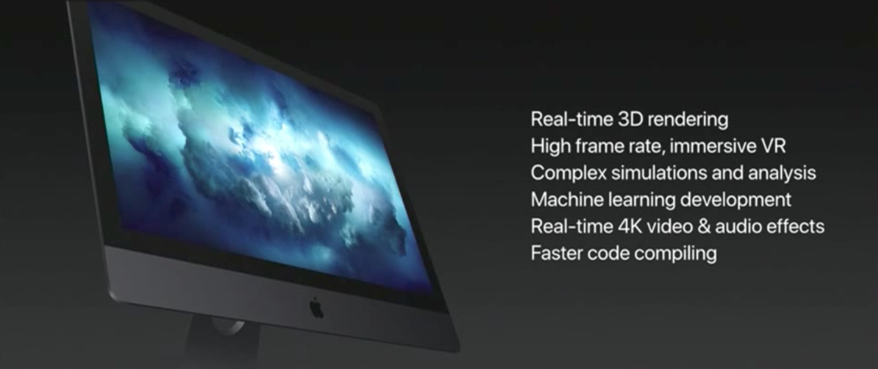 New iMac model Apple