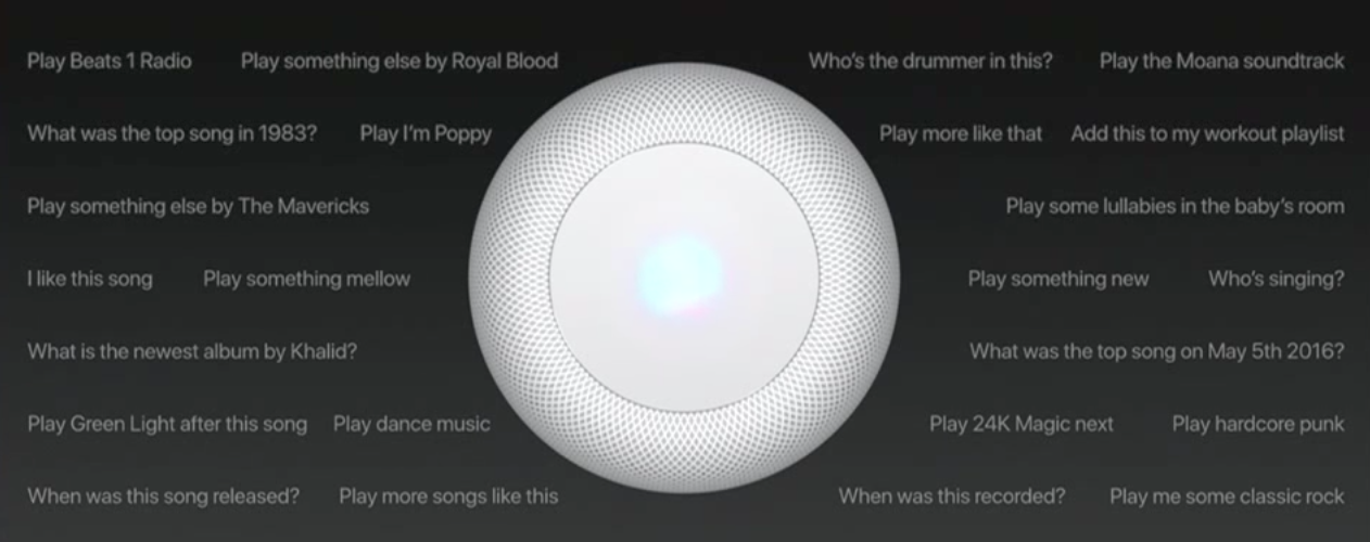 HomePod Siri Apple
